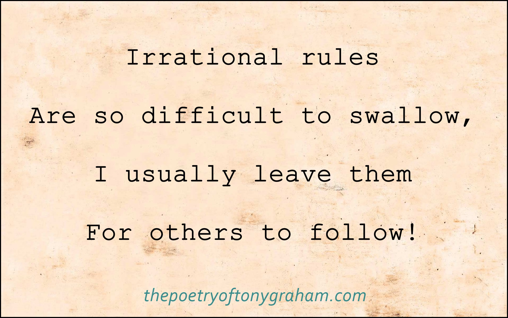 TPOTG Irrational Rules 01