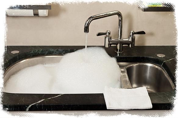 TPOTG Washing Dishes Frame
