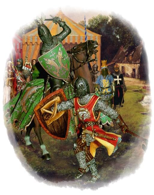 TPOTG Black Knight Fighting